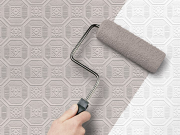 Home Improvement & Painting Tips. Paintable Wallpaper
